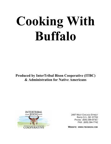 Cooking With Buffalo - Confederated Tribes of the Umatilla Indian ...