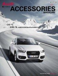 100 % valmistautuneena -20 °C - Audi
