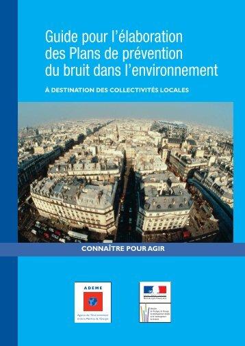 Guide pour l'élaboration des PPBE - Ministère du Développement ...