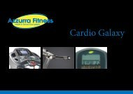 new cardio.indd - Azzurra Fitness