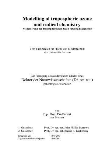 measurement technique - E-LIB - Universität Bremen