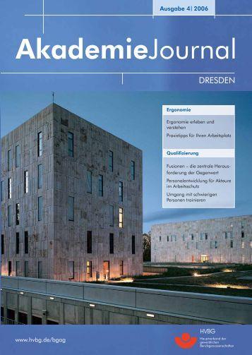 Ausgabe 4/2006 als PDF - Deutsche Gesetzliche Unfallversicherung