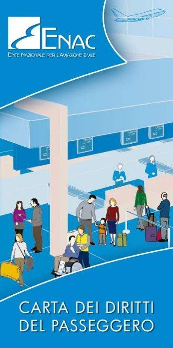 Scarica la Carta dei Diritti del Passeggero - Enac