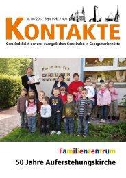 Familienzentrum 50 Jahre Auferstehungskirche - Evangelisch in ...