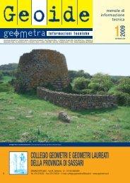 gennaio 2009 - Collegio dei Geometri della provincia di Sassari