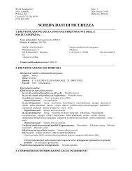 SCHEDA DATI DI SICUREZZA - HACH LANGE