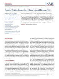 Pulsatile Tinnitus Associated with a Laterally Placed