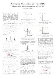 Un'applicazione della fisica quantistica - Liceo cantonale di Locarno