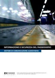 INFORMAZIONE E SICUREZZA DEL PASSEGGERO - Moby TV