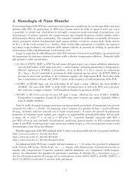 4. Sismologia di Nane Bianche
