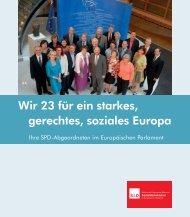 Wir 23 für ein starkes, gerechtes, soziales Europa - SPD Europa