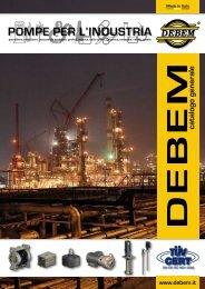 Cataloghi pompe industriali Debem - Tecnica Industriale S.r.l.