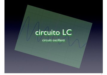 circuito LC - Unisi.it