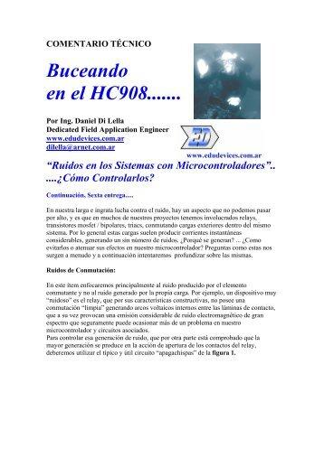 """""""Ruidos en los Sistemas con Microcontroladores ... - Edudevices"""