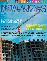 ELÉCTRICOS - Instalaciones, Revista de Ingeniería