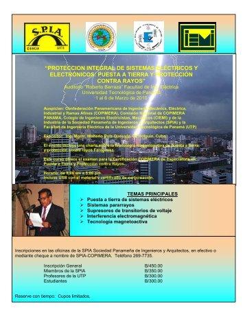 proteccion integral de sistemas eléctricos y electrónicos - copimera