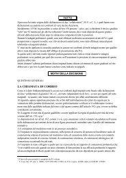 LA CHIAMATA DI CORREO - Diritto & Diritti
