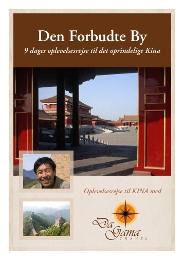 Den Forbudte By - DaGama Travel