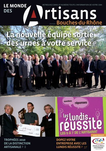 Meridien mag hors serie 2 for Chambre des metiers bouche du rhone