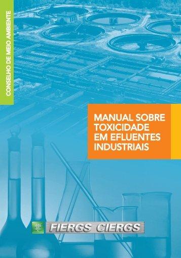 Manual de Toxicidade - ECOCELL - Projetos e Consultoria Ambiental
