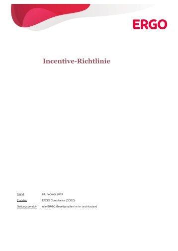 Richtlinie zur Durchführung von Wettbewerbsreisen und Incentives
