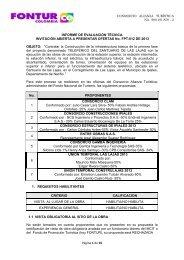 Página 1 de 16 INFORME DE EVALUACIÓN TÉCNICA INVITACIÓN ...