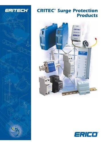 CRITEC® Surge Protection Products - GV Kinsman Electrical Products