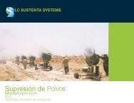 Supresión de Polvos - Lc Sustenta Systems.com