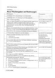 Neue Pflichtangaben auf Rechnungen