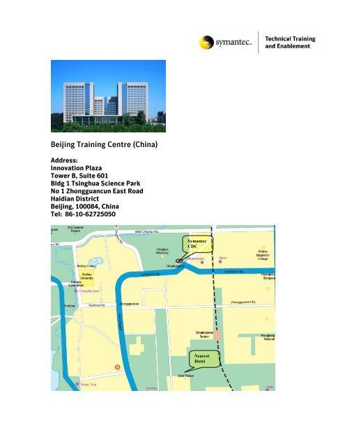 Beijing Training Centre (China) - Symantec