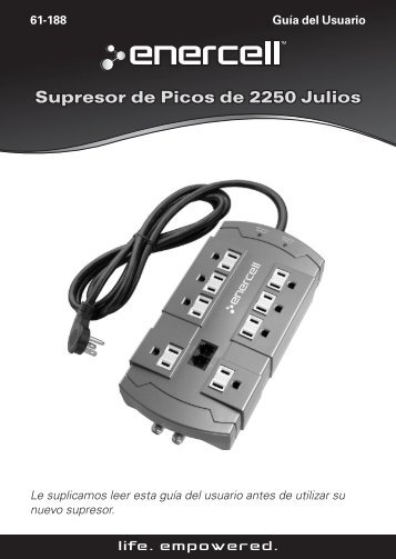 Product name and product name descriptors Supresor de Picos de ...