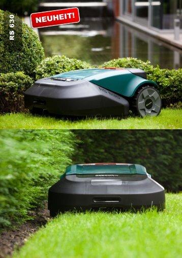 Datenblattmappe Robomow RS 630 - Pirker Gartentechnik
