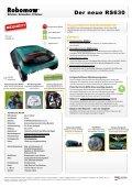 Datenblattmappe Robomow RS 630 - Pirker Gartentechnik - Seite 2