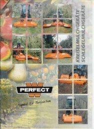 Perfect Mulcher für Obst Anlagen