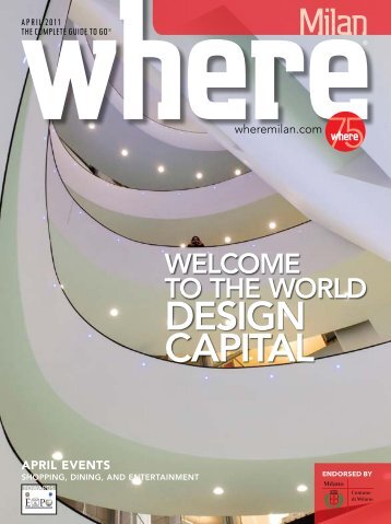 DESIGN CAPITAL - Where Milan