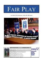 Federazione Italiana Dirigenti Sportivi La rivista di chi promuove i ...