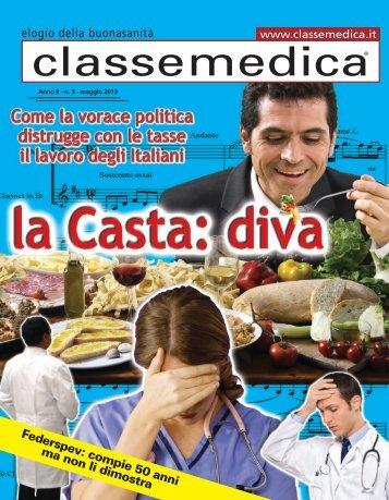 Anno II - n.5 - maggio 2013 - Classe Medica
