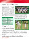 Il Cricket Italiano 2012 - Federazione Cricket Italiana - Page 5