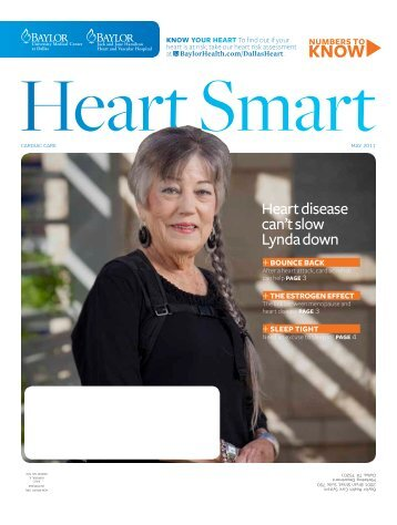 Heart disease can't slow Lynda down - Baylor Health Care System