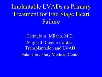 LVAD/Transplant