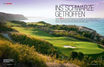 2011 Oct DE GOLFmagazin - Thracian Cliffs Golf & Beach Resort
