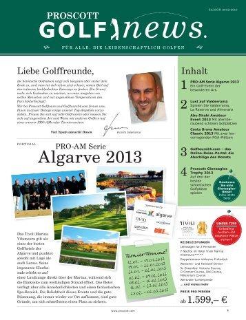 Algarve 2013 - Ryder Cup 2012