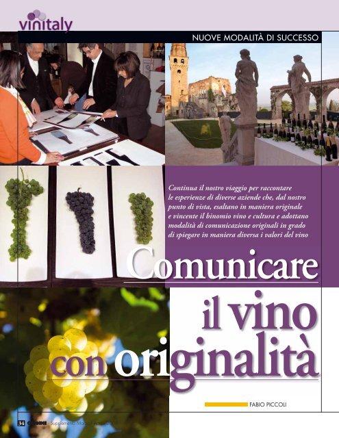 Comunicare il vino con originalità - L'Informatore Agrario