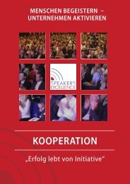 KOOPERATION - Trainers Excellence