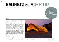 BauNetzWoche #187 – Beton wie Samt