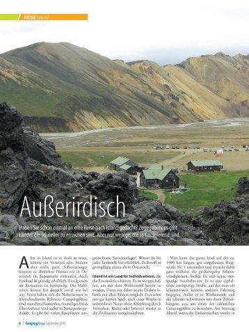 Reisebericht als PDF - Österreichischer Campingclub