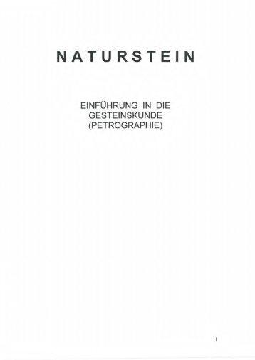 """download der broschüre """"gesteinskunde"""""""