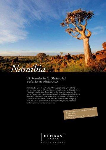 Namibia - Globus Reisen