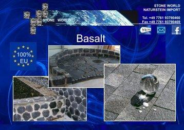 Basalt Produkte - Jura-kalk.eu