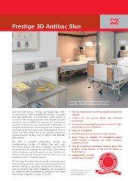 Prestige 3D Antibac Blue - MK Electric